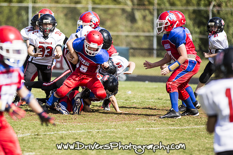 Maryville Parks and Recreation, Heritage vs Maryville, Football, Sports Photography