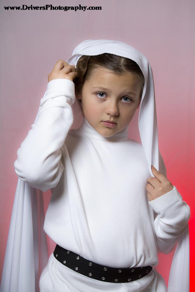 Star Wars, Princess Leia, Child, Model