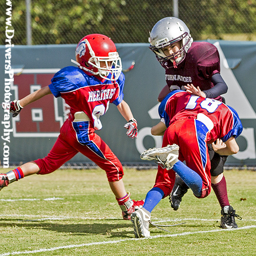 Maryville Parks and Recreation, Heritage vs Alcoa, Football, Sports Photography