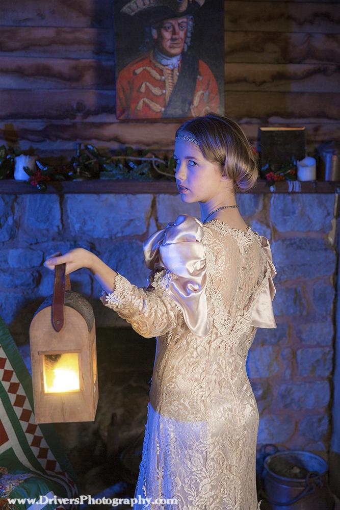 Arabella in Night Lamp | Portrait Photographer | Child Photography | Senior Portrait
