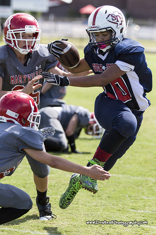Maryville Parks and Recreation, South Doyle vs Maryville, Football, Sports Photography