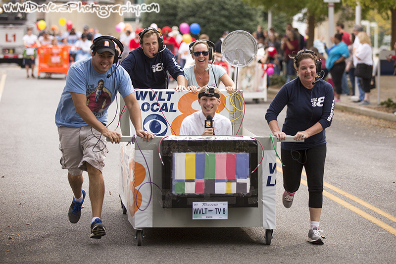 Special Places Bed Race, Event Photography,  Knoxville