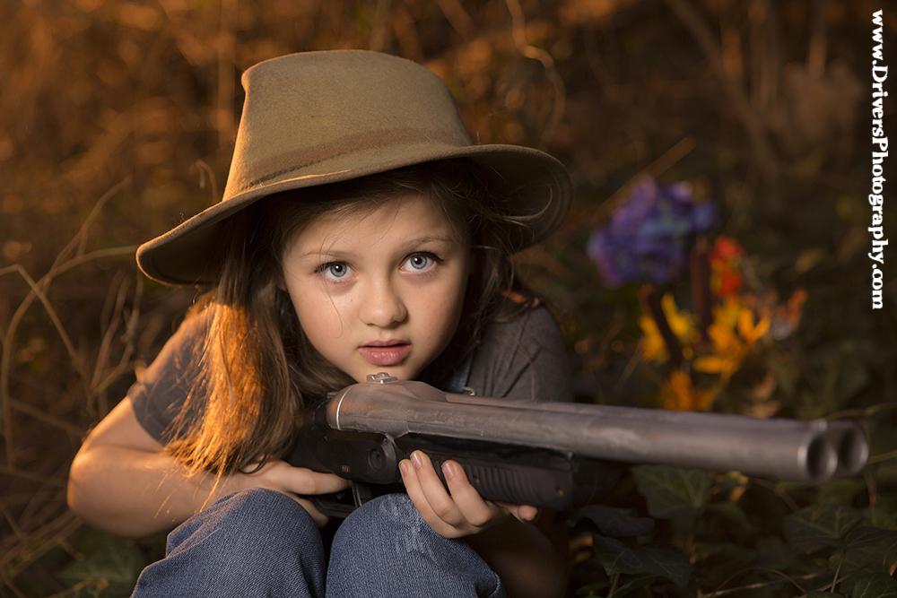 Nina Lucina In Teddy Bear Hunter Photographer Nashville