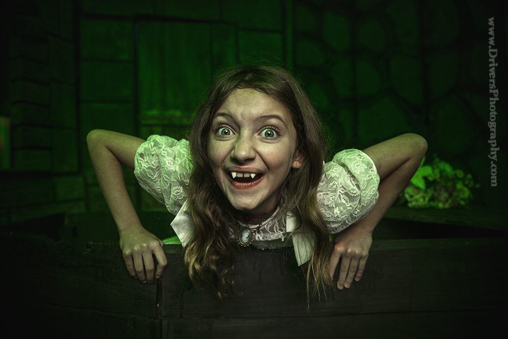 """Anastasia Potapov in """"Vampire"""""""