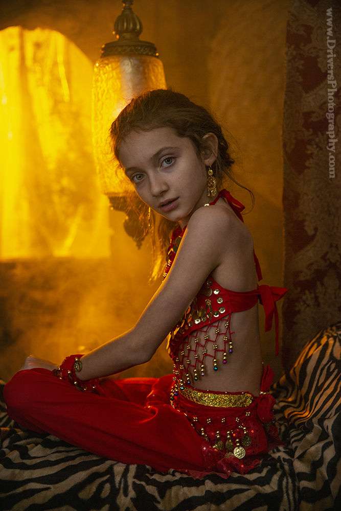 "Anastasia Potapov in ""Belly Dancer"""