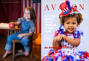 "Lexi-Lou in ""Avalon Model + Talent Magazine"", July 2017"