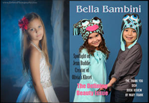 Emma Shaddix  in Bella Bambini Defining Beauty Edition