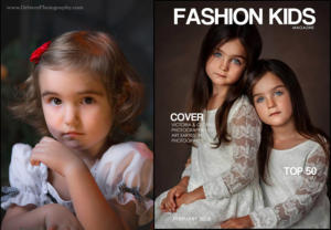 Leighton Rose in Fashion Kids, Feb 2018