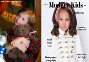 "Nina Lucina  in ""Modern Kids  Teens Fashion Magazine #05"", Dec 2016."